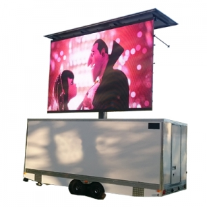 Mobile LED Trailer Display
