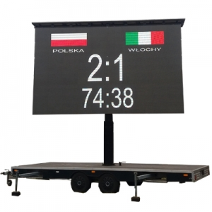 Mobile Trailer LED Screen